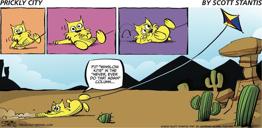 Prickly City Comic Strip for April 18, 2021