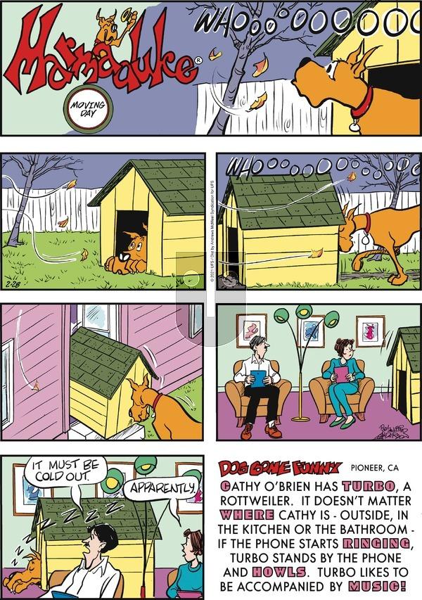 Marmaduke on Sunday February 28, 2021 Comic Strip