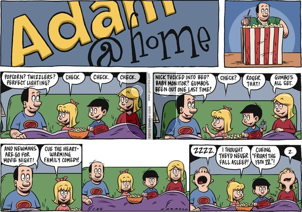 Adam@Home on Sunday January 25, 2015 Comic Strip