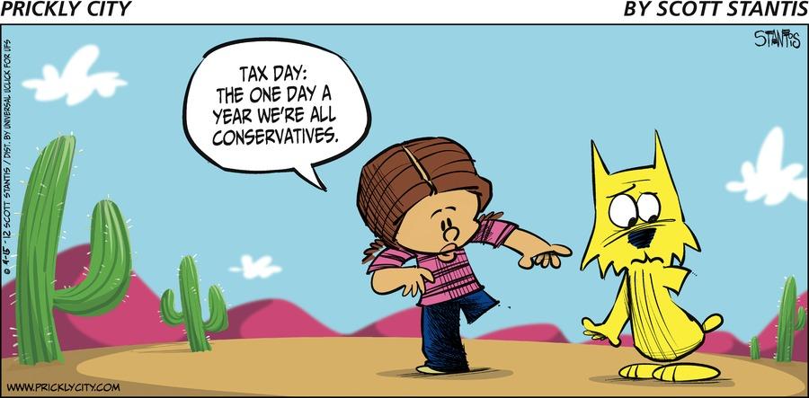 Prickly City Comic Strip for April 15, 2012