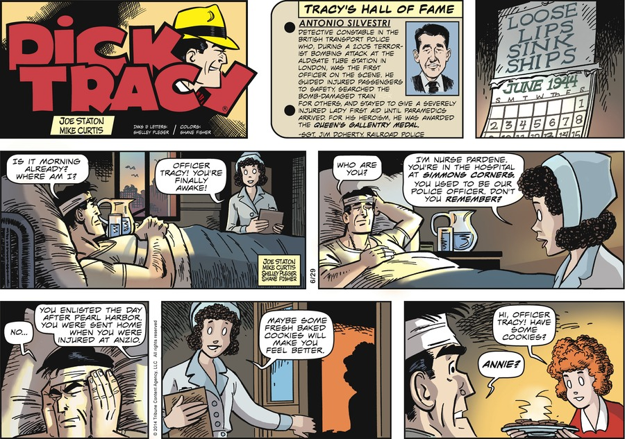 Dick Tracy Comic Strip for June 29, 2014
