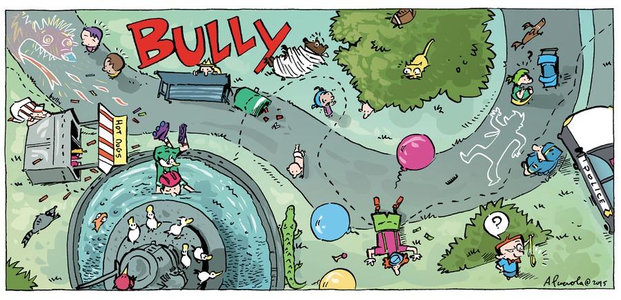 Bully for Jul 26, 2015 Comic Strip