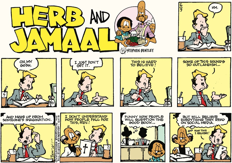 Herb and Jamaal Comic Strip for June 09, 2019