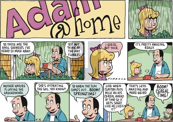 Adam@Home on Sunday April 5, 2020 Comic Strip