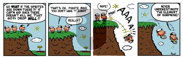 Pirate Mike on Saturday January 26, 2019 Comic Strip