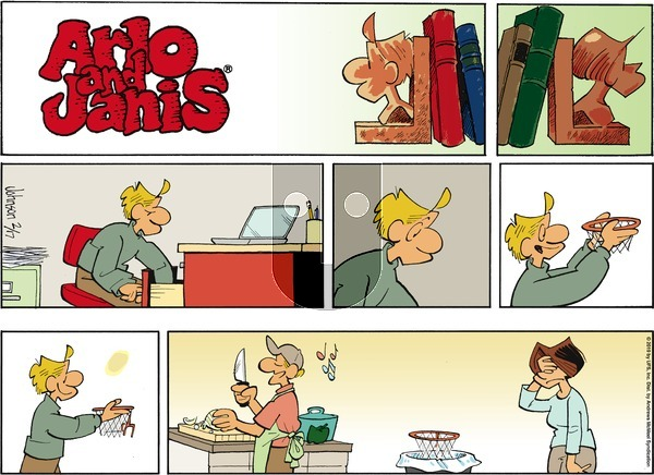 Arlo and Janis on Sunday February 17, 2019 Comic Strip
