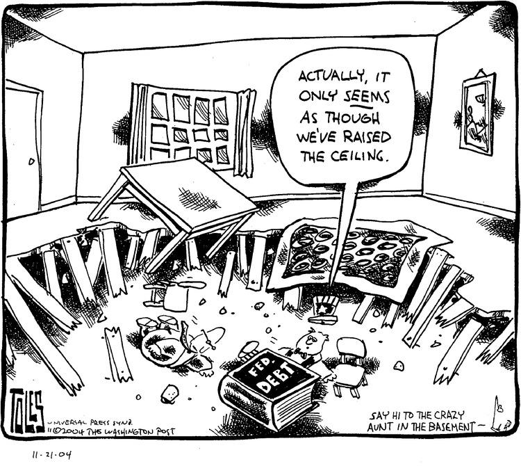 Tom Toles for Nov 21, 2004 Comic Strip