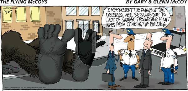 The Flying McCoys - Sunday September 23, 2012 Comic Strip