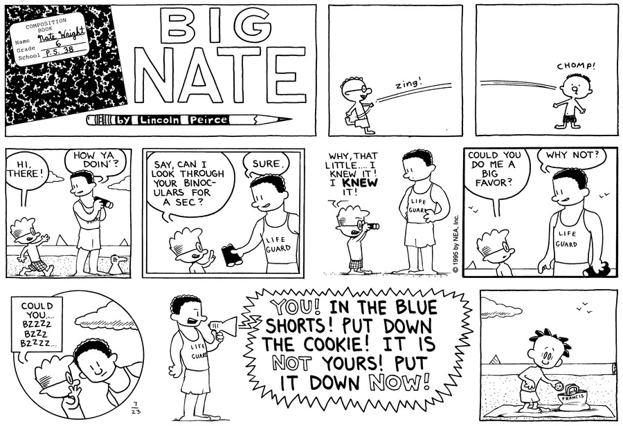 Big Nate: First Class Comic Strip for August 02, 2020