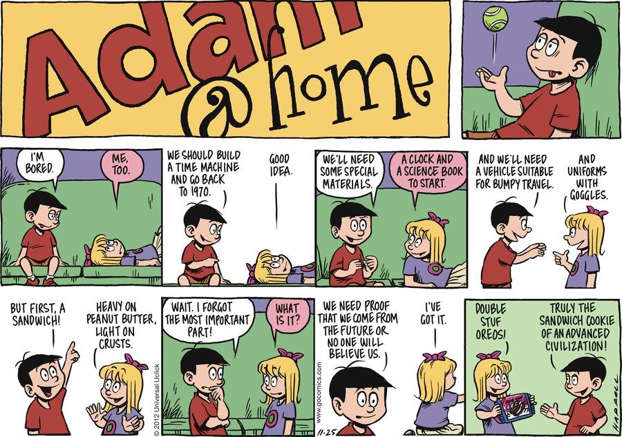 Adam@Home for Nov 25, 2012 Comic Strip