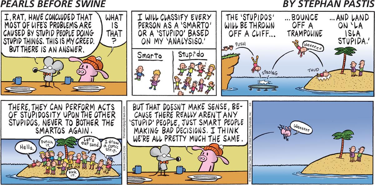 Pearls Before Swine Comic Strip for June 08, 2008