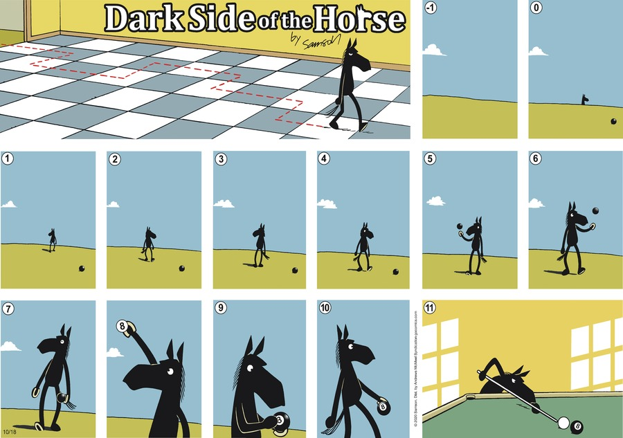 Dark Side of the Horse Comic Strip for October 18, 2020
