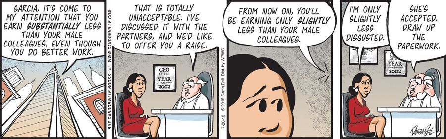 Candorville Comic Strip for July 28, 2018