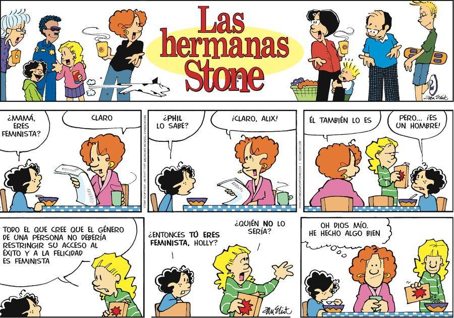 Las Hermanas Stone for Sep 24, 2017 Comic Strip