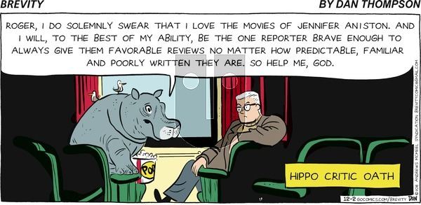Brevity on December 2, 2018 Comic Strip