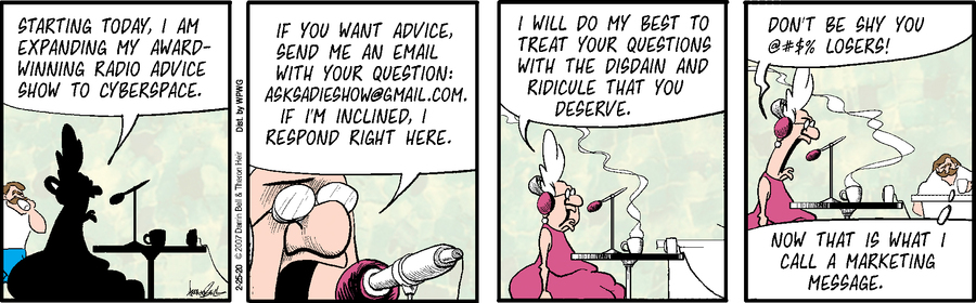Rudy Park Comic Strip for February 25, 2020
