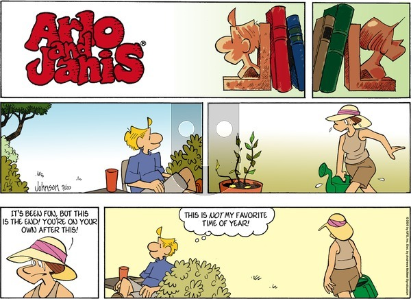 Arlo and Janis on Sunday September 20, 2020 Comic Strip