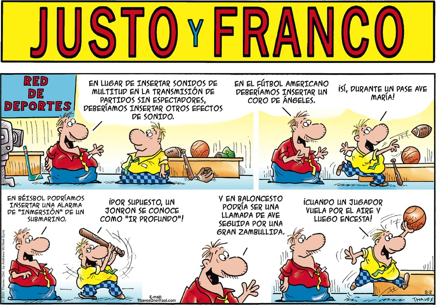 Justo y Franco by Thaves on Sun, 02 Aug 2020