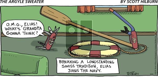 The Argyle Sweater on Sunday September 23, 2018 Comic Strip