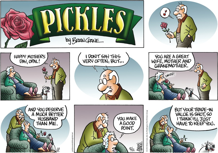 Pickles Comic Strip for May 12, 2013