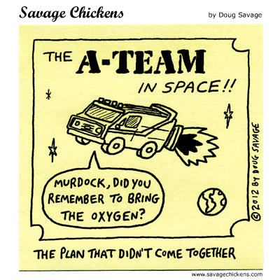The A-team in space!! 