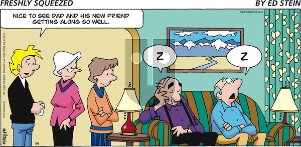 Freshly Squeezed on Sunday May 17, 2020 Comic Strip