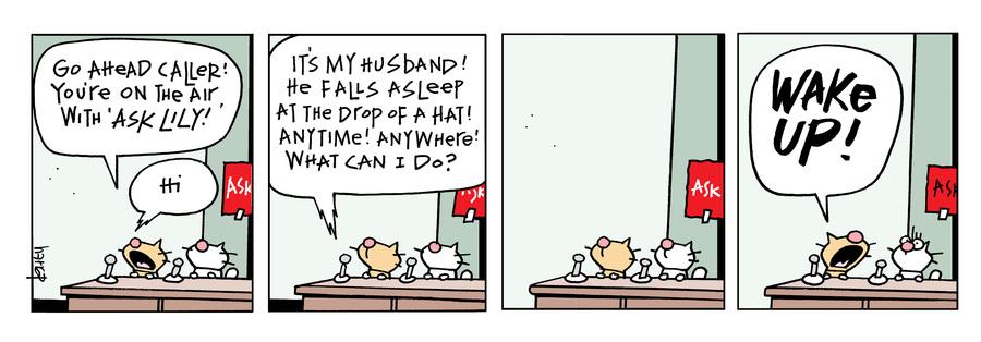 Ten Cats Comic Strip for July 16, 2021