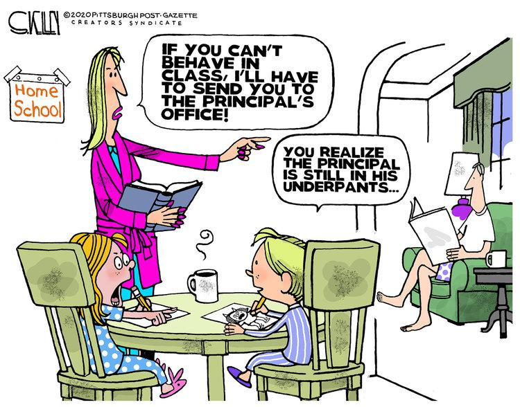 Steve Kelley Comic Strip for March 26, 2020