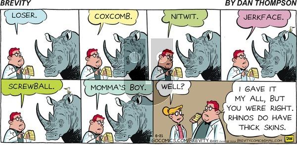 Brevity on Sunday June 21, 2015 Comic Strip