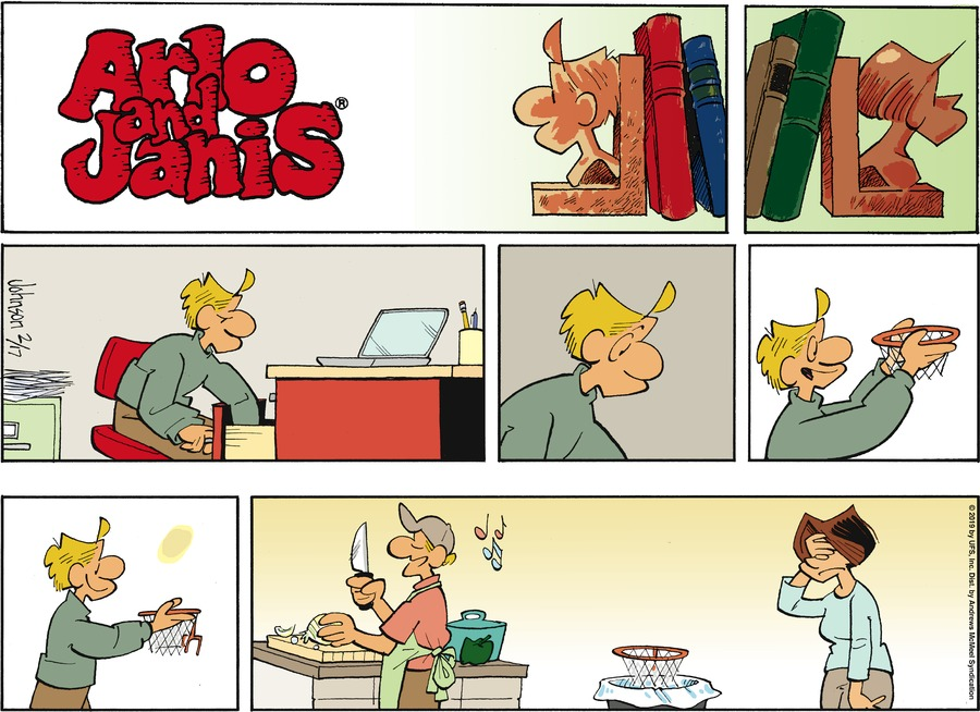 Arlo and Janis Comic Strip for February 17, 2019