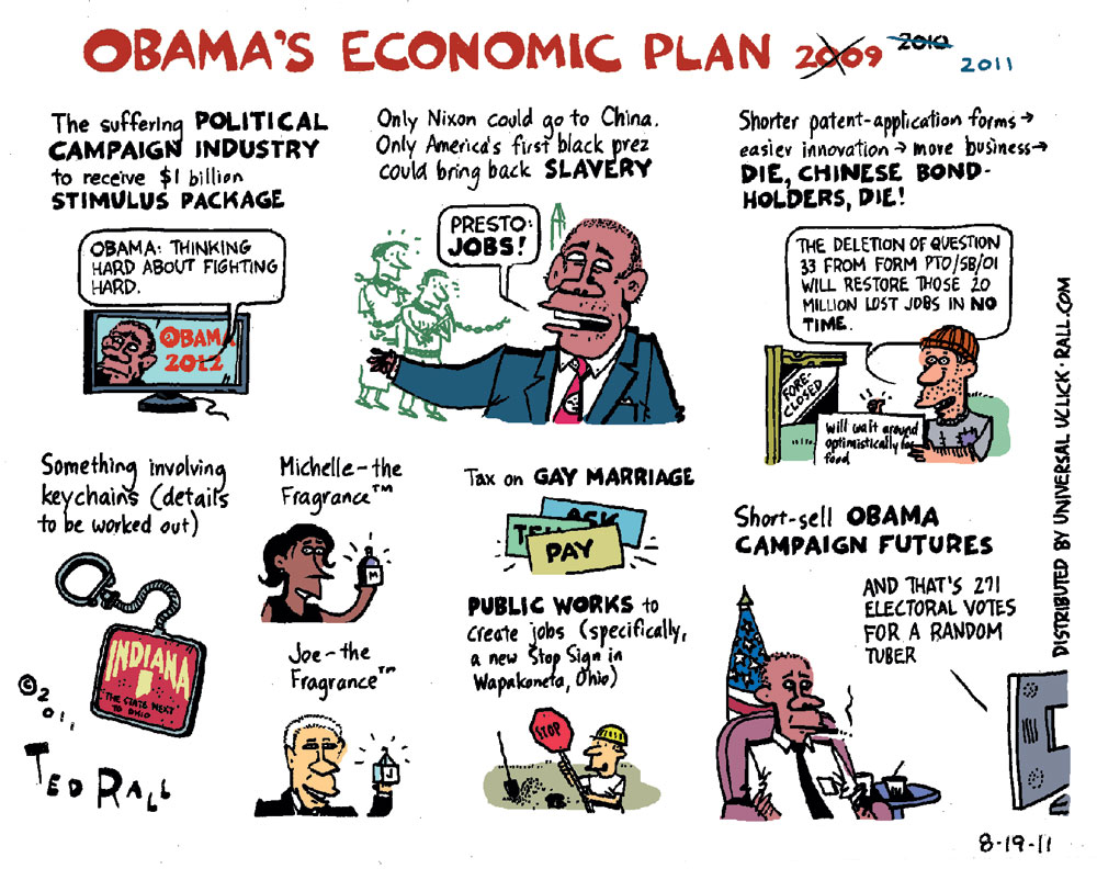 Ted Rall Comic Strip for August 19, 2011
