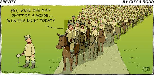 Brevity - Sunday February 27, 2005 Comic Strip