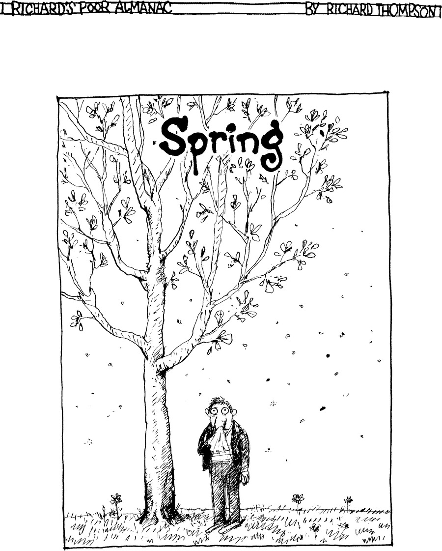 richard's poor almanac by richard thompson
