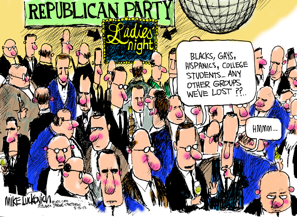 Mike Luckovich Comic Strip for March 15, 2012