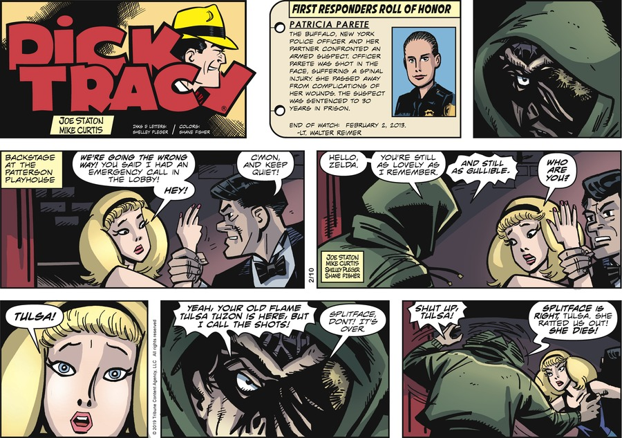 Dick Tracy Comic Strip for February 10, 2019