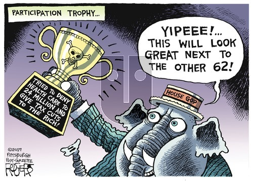 Rob Rogers on Sunday May 7, 2017 Comic Strip