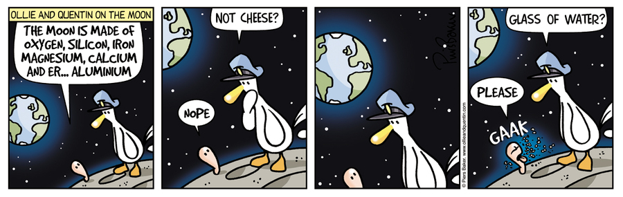 Ollie and Quentin Comic Strip for July 27, 2021