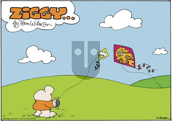 Ziggy - Sunday March 8, 2020 Comic Strip
