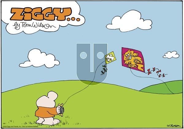 Ziggy on Sunday March 8, 2020 Comic Strip