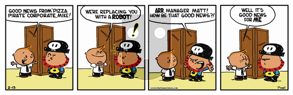 Pirate Mike - Wednesday May 15, 2019 Comic Strip