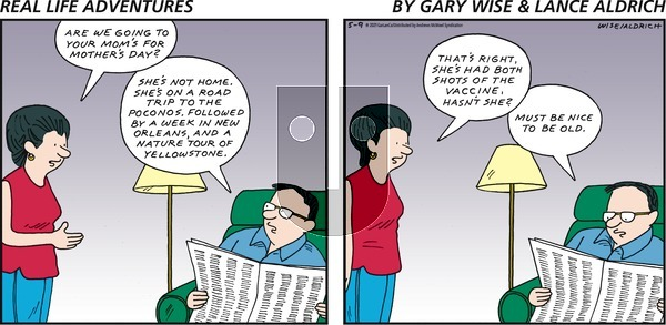 Real Life Adventures on Sunday May 9, 2021 Comic Strip