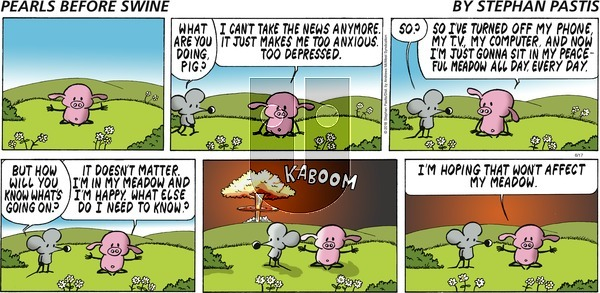 Pearls Before Swine on Sunday June 17, 2018 Comic Strip