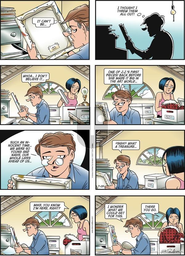 Doonesbury on Sunday July 9, 2017 Comic Strip