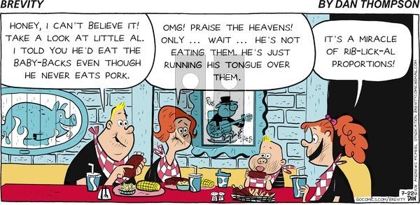 Brevity on Sunday July 22, 2018 Comic Strip