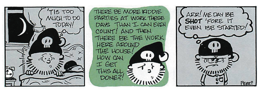Pirate Mike Comic Strip for June 17, 2019