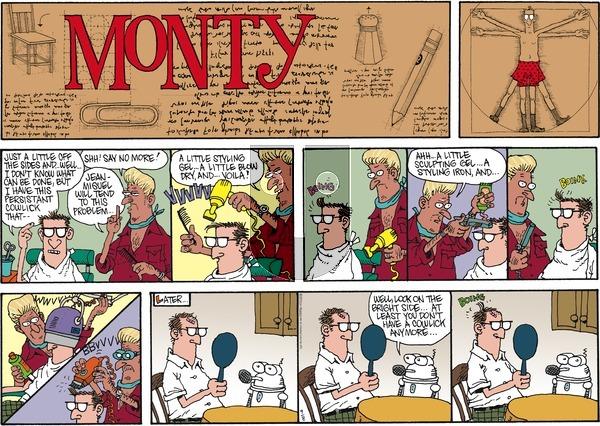 Monty on Sunday September 8, 2013 Comic Strip