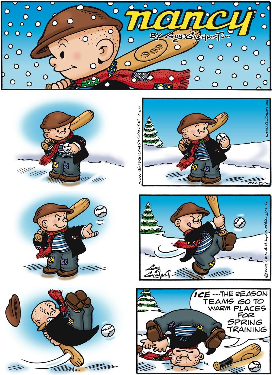 Nancy for Jan 22, 2012 Comic Strip