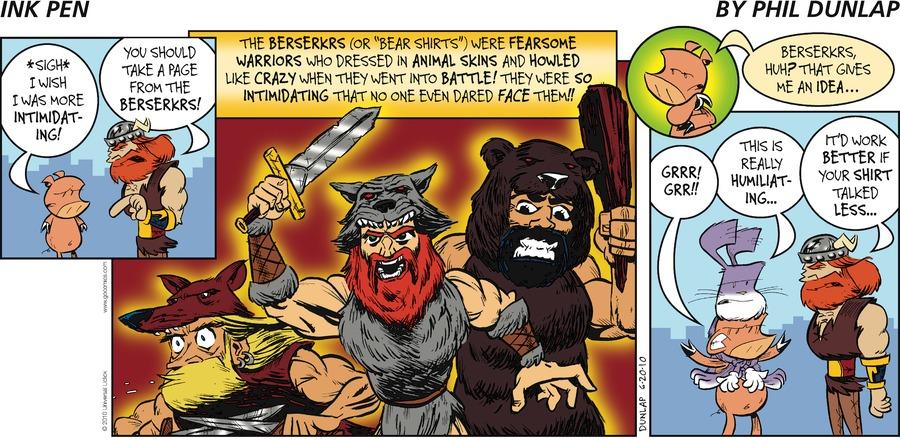 Ink Pen Comic Strip for June 20, 2010