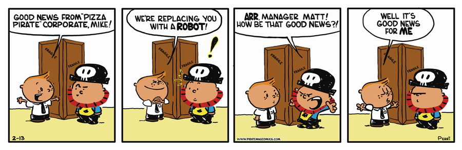 Pirate Mike Comic Strip for May 15, 2019