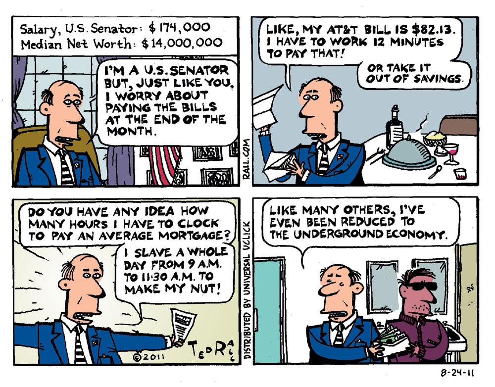 Ted Rall Comic Strip for August 24, 2011